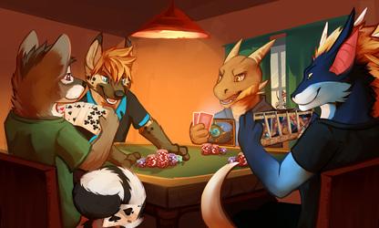 [Pulex] Furries Playing Poker
