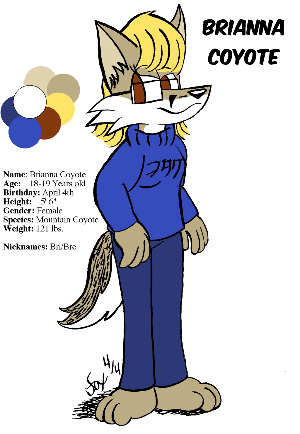 Introducing Brianna Coyote!