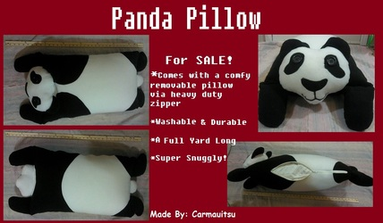 AUCTION - Panda Pillow