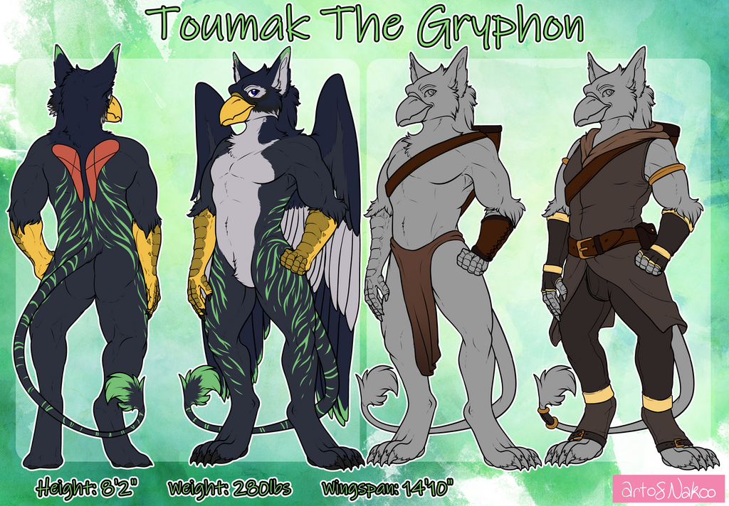 Commission: Toumak (Not My Character)
