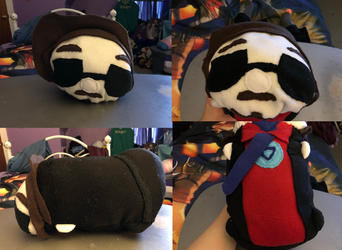 Marvel Tony Stark Medium stackable Tsum plush commission for kara-kimura