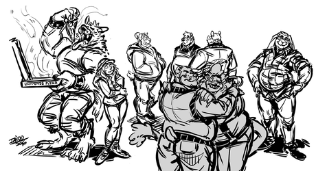 Doodle Scene Party
