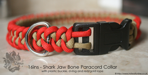 BlackPhantom1412 - Shark Jaw Bone Collar