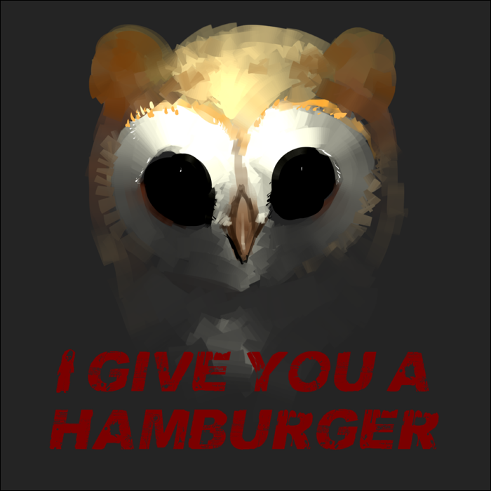 Featured image: I give you a Hamburger