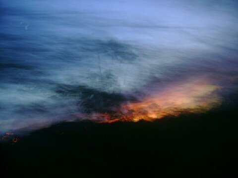 Sunset Blur - Ship