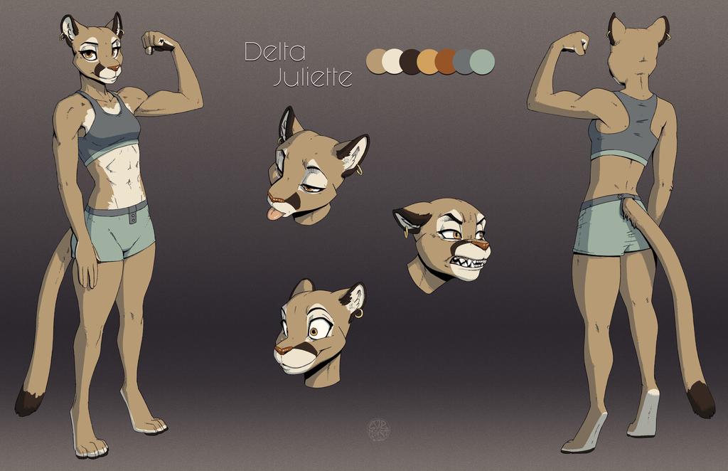 Delta Juliette refsheet