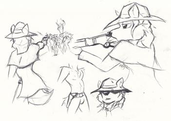 A Few Michael Sketches