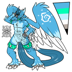 Male Alchemist Articuno +Design+ (SOLD)