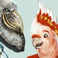 bird busts