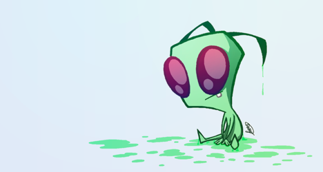 A bit of cuteness (and slime)