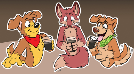 Telegram Sticker - Beer set!