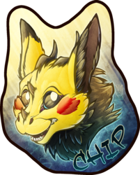 Badge Comish - Chip