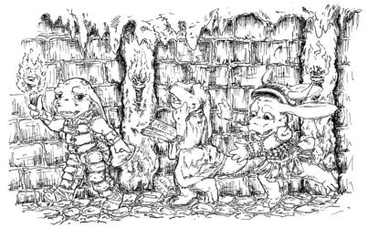 Cutebold Dungeoneers
