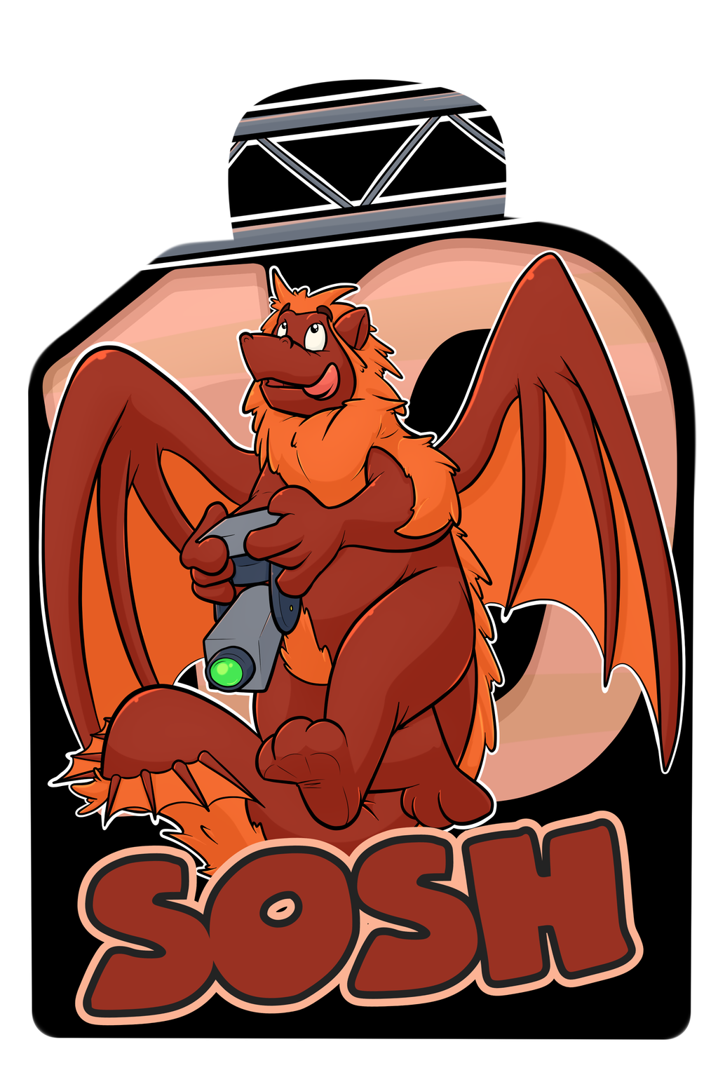 Confuzzled 2017 Badges - Sosh