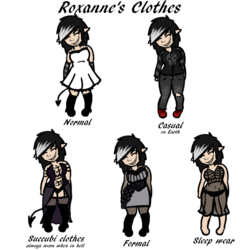 Roxanne's Clothes