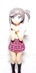 Anime Schoolgirl Figurine: ID and Translation Wanted