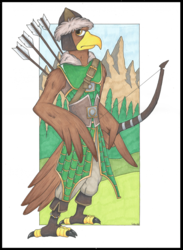 Harth, Eagle Archer