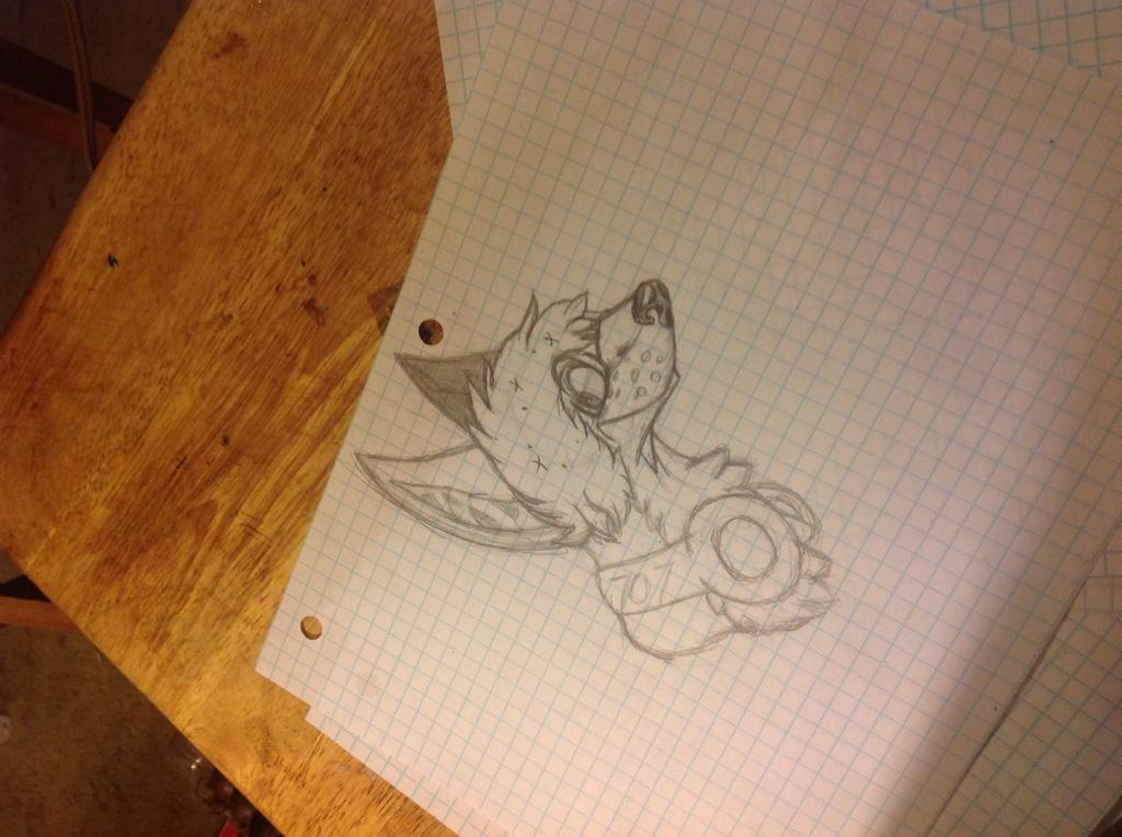 Most recent image: Luciel Oc (cartoon ish sketch)