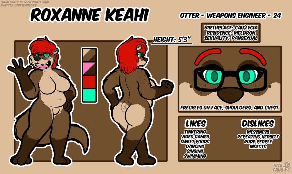 {P} Roxanne Keahi 2019 Reference Sheet