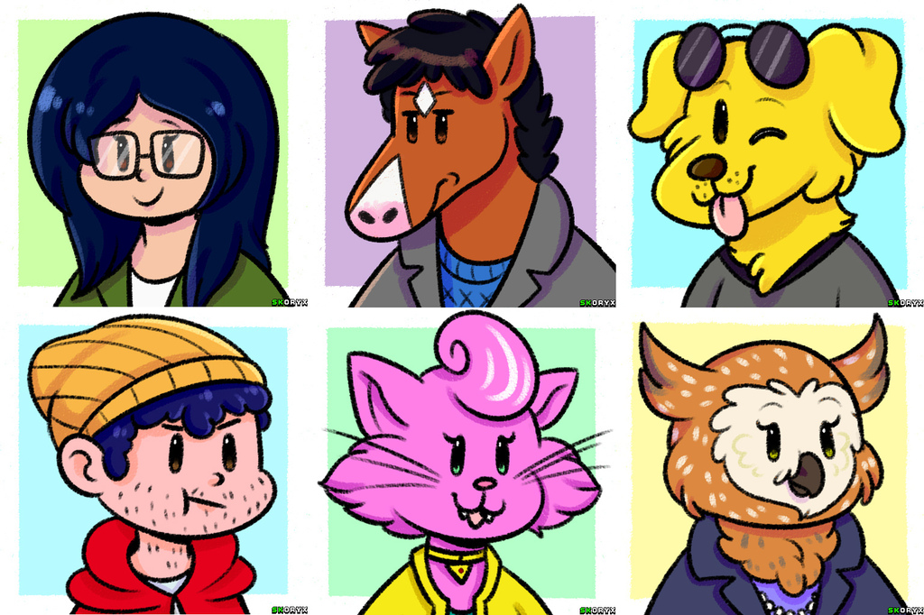 Most recent image: Bojack Horseman doodleys