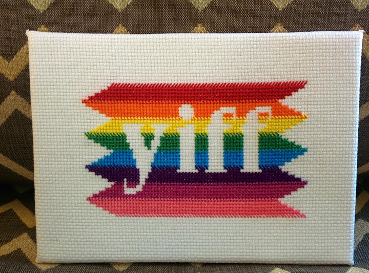 Featured image: YIFF Cross-Stitch [For Sale!]