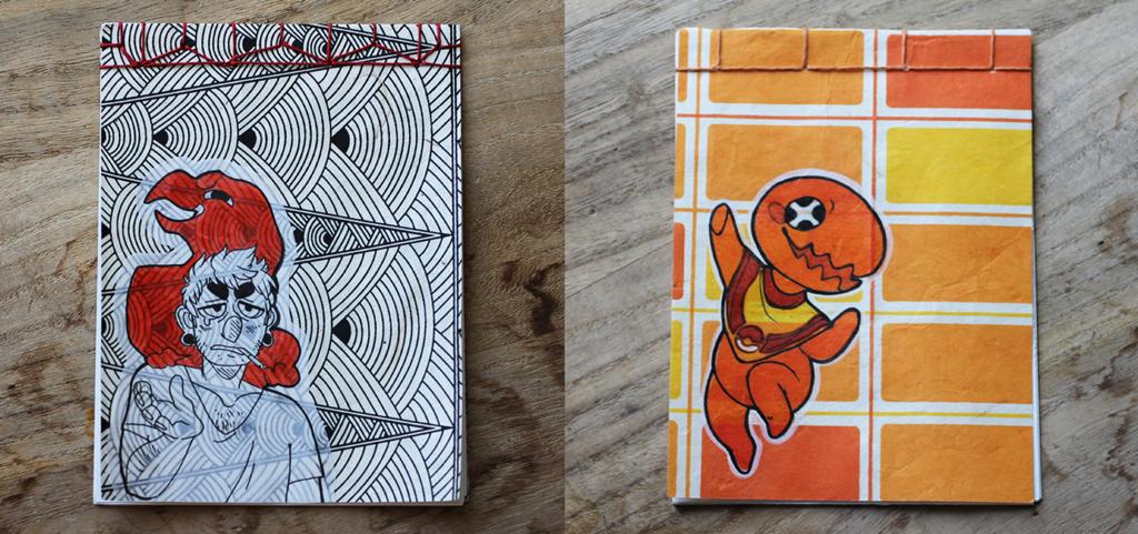Gabe + Trapinch Sketchbooks