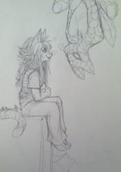 SpiderDog and MeowyJane