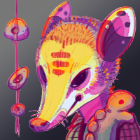 Ohopossum Vivid Icon
