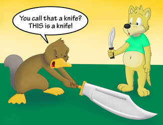 Shank's Australian knife envy