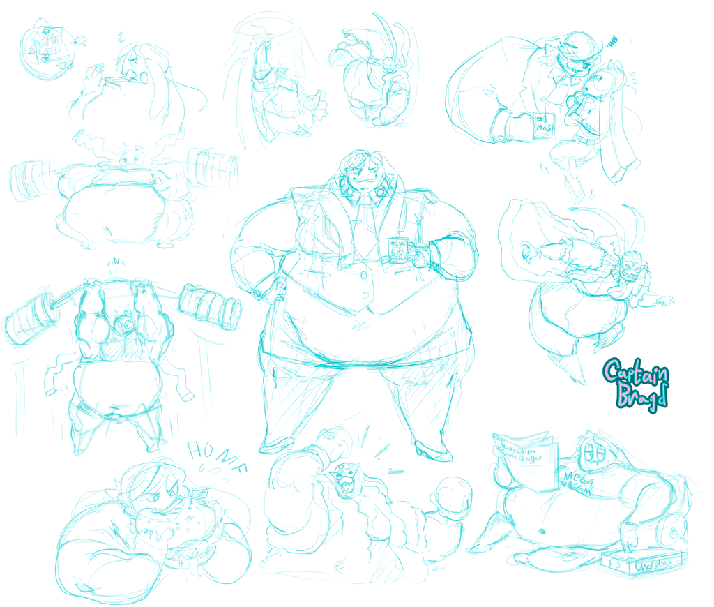 Sketchpage Commission ~ Jace Vaukei
