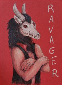 Ravager badge - AC 2016