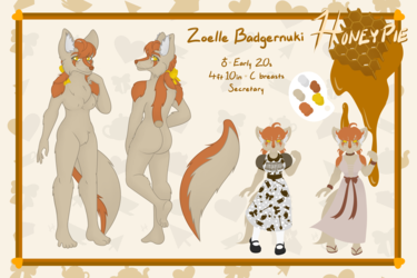 [COMM] Honeypie Ref Sheet