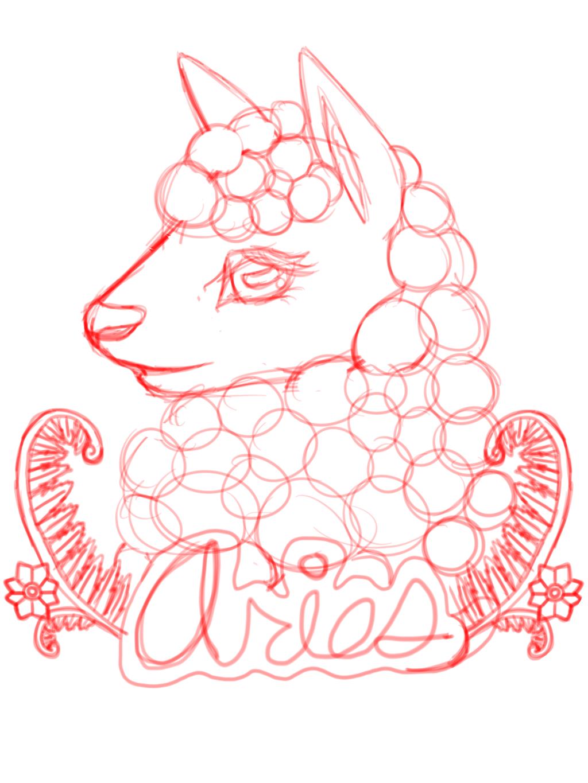 Aries Sketch