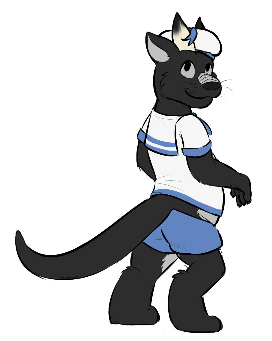 Sailor Otter Dragon - Gift from Overzen by Tallarra