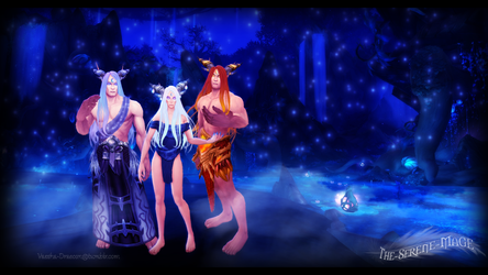 Albiona, Infernion, and Saphaellion