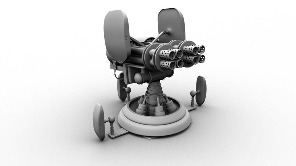 [3D] Turret Model