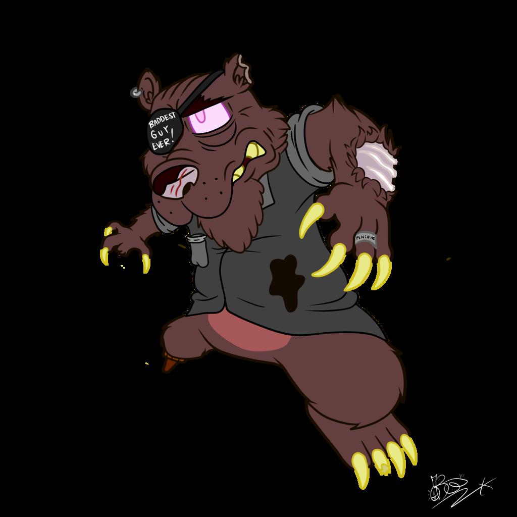 Most recent image: Carl the SUPER BAD Bear