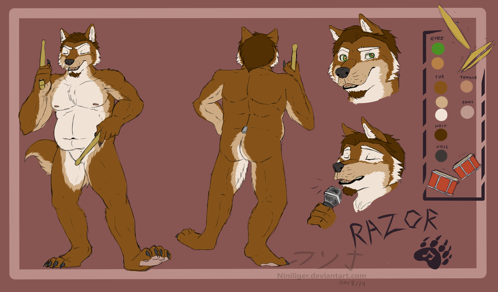 razor reference sheet - comission