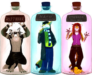 Bottled Curiosities - Wolfy, NdRo, Kytheraen