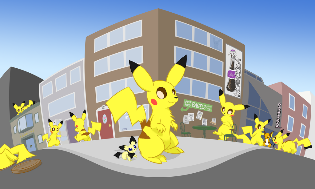 Invasion of the Giant Pikachu