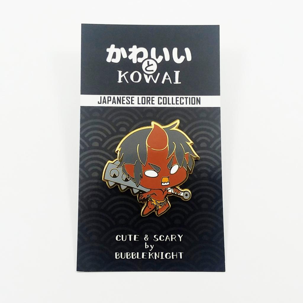 Most recent image: KAWAII TO KOWAI - Oni Pin