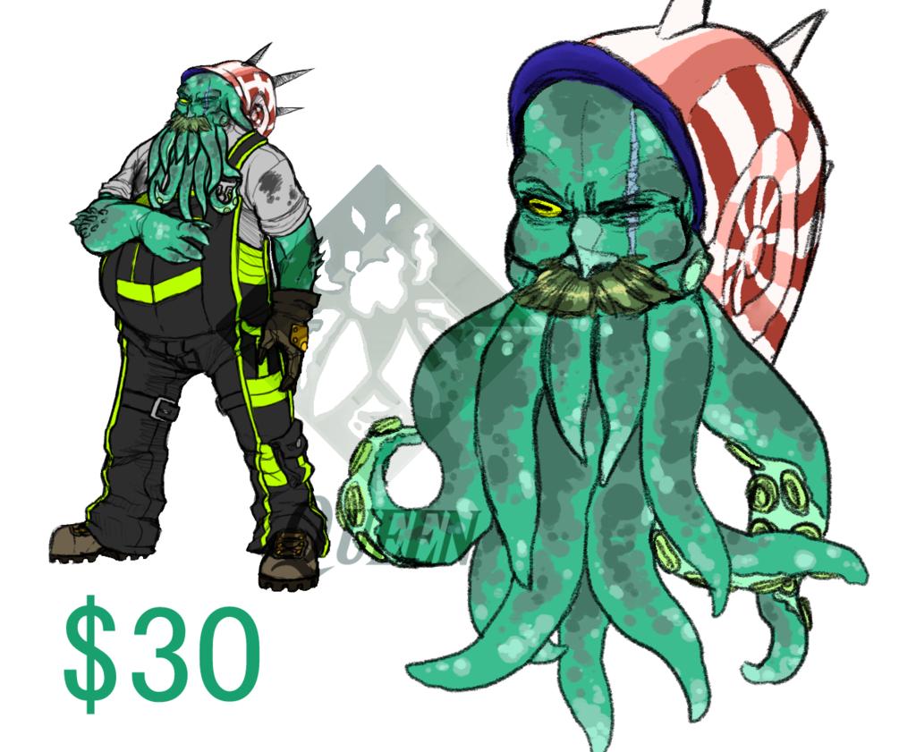 Alien Octopus [OPEN]
