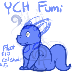 Most recent image: Chubby YCH Fumi Adopt