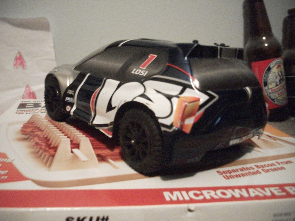 Losi 1/24th scale rally car (back)