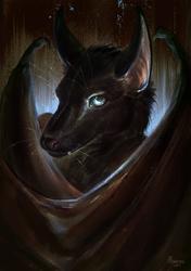 Batty portrait by Alsaresnolynx (FA)