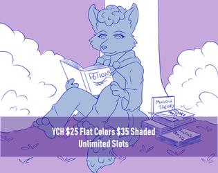 Magical Study - YCH