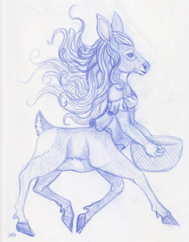 Most recent image: Draw a centaur 2019