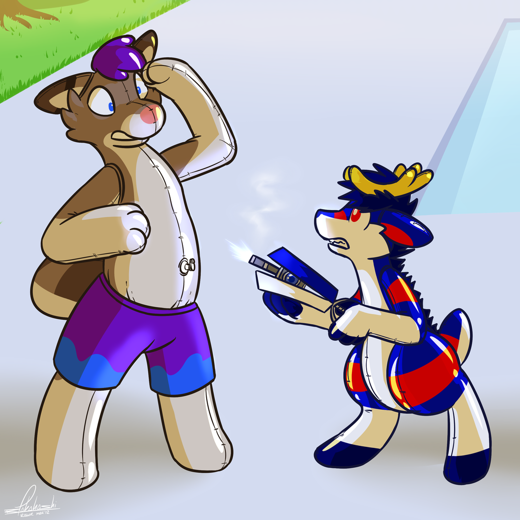 Being an awesome pool-toy by Rawr (2/4)