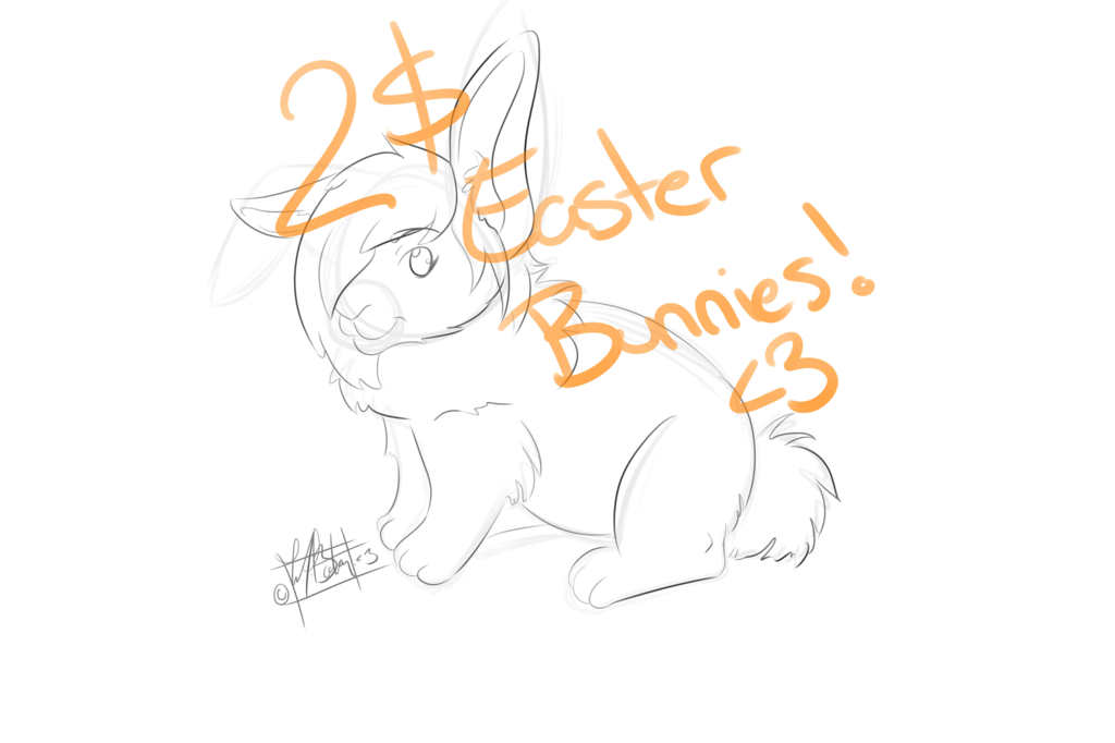 Most recent image: 2$ Bunnies fer Easterrr.~