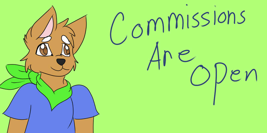 Most recent image: Commissions are open